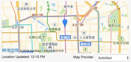 User's Location in Grata